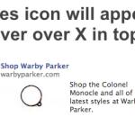Facebook、広告在庫の透明性確保にむけAdChoices iconをFBXで実装か(英文)