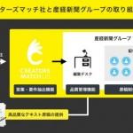 クリエイターズマッチと産経新聞グループ、テキスト広告のライティングサービスを提供開始