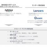 ランサーズとセガネットワークス、デジタルマーケティング支援の合弁会社設立