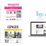 サイバーエージェント、人気女性雑誌の「美的」「SPUR」「MAQUIA」「GINGER」と共同で広告商品を開発
