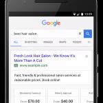 Google AdWords、モバイルテキスト広告に価格表示オプションを追加