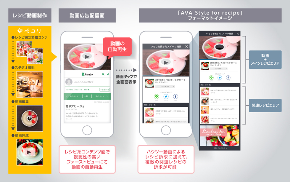 AVA Style for recipe 掲載イメージ