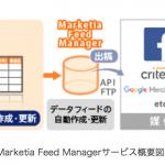 アイレップのデータフィード最適化サービス「Marketia Feed Manager」、サイトクローリング機能を実装