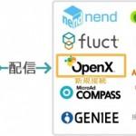 ファンコミュニケーションズの「nex8」、OpenXを接続
