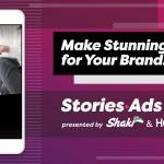 HubSpotとShakr、Instagram向け縦型動画広告制作ツール「StoriesAds.com」をリリース