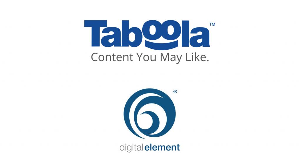 taboolaとdigital erelment