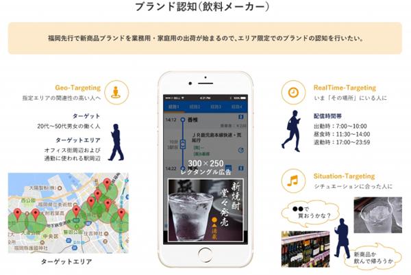 スマートフォン特化型広告配信サービス「LocAD」
