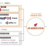 Supershipの「Ad Generation」、動画リワード広告において「Tapjoy」をカスタムメディエーション機能で利用可能に