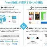 ファンコミュニケーションズの「nend」、 広告主向けに動画広告の提供を開始