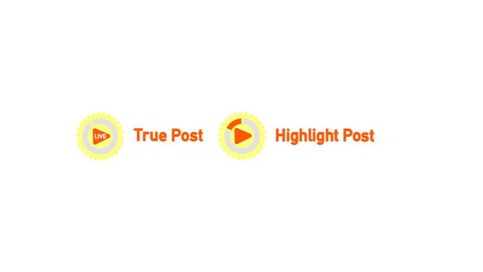 True Post&Highlight Post