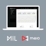 MIL、「maio」と提携してインタラクティブ動画広告の提供を開始