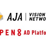 動画マーケティングプラットフォーム「AJA VISION NETWORK」、「OPEN8 AD Platform」と連携開始
