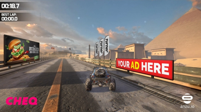 CHEQ、次世代アドテクノロジー企業CHEQ×Anzu初の3Dビデオゲーム用アドベリフィケーションを発表
