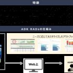 ADKマーケティング・ソリューションズ、デジタル広告運用のレポーティング・分析を通したクライアント意思決定支援の仕組み「ADK RADs」のβ版のサービス提供を開始