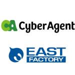 サイバーエージェント、イースト・ファクトリー社と共同でタレントのYouTubeチャンネル開設における企画・開発支援サービスを開始