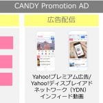 ヤフー、C Channelと共同で女性への訴求を目的とした動画広告商品「CANDY Promotion AD」の提供を開始