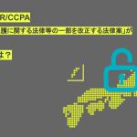 【解説】日本版GDPR/CCPA「個人情報の保護に関する法律等の一部を改正する法律案」が閣議決定