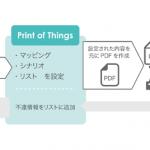 グーフとディレクタス、セールスフォースと印刷プラットフォーム「Print of Things®」が連携