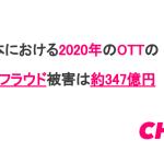 CHEQ、日本における2020年のOTTのアドフラウド被害は3.23億ドル(347億円)と予想