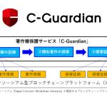 博報堂、ブロックチェーンを活用してデジタルコンテンツの著作権を管理し保護するサービス「C-Guardian」を共同開発