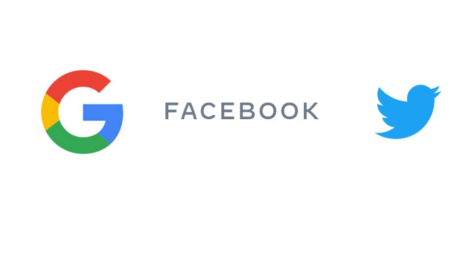 google facebook twitter コロナ対策