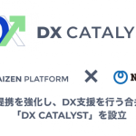Kaizen PlatformとNTTアド、企業のDX支援を事業とする合弁会社「DX Catalyst」を設立
