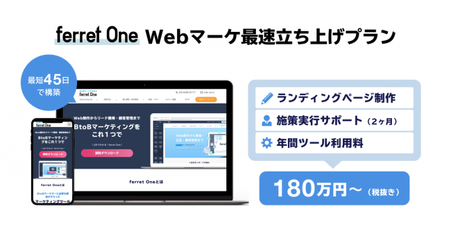 Webマーケ最速立ち上げプラン
