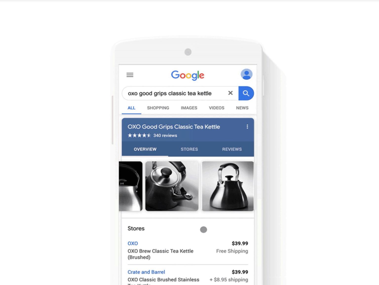 Google、検索結果に商品リスティングを無料掲載へ