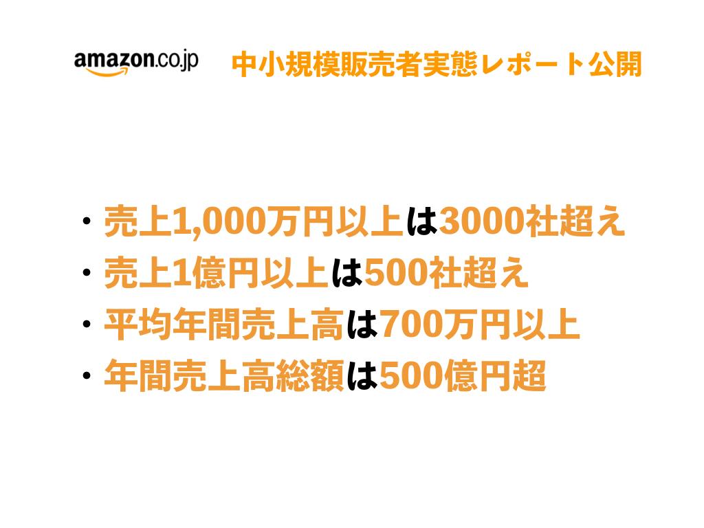 Amazonで年間売上が1億円以上の中小企業は500社以上に【Amazon調べ】