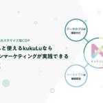 三井物産グループのLegoliss、マルチクラウド対応のカスタマイズ型CDP「kukuLu」の提供開始
