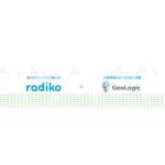 ジオロジック、民放ラジオ局共同アプリ「radiko」上でのエリア指定ラジオ広告を開始