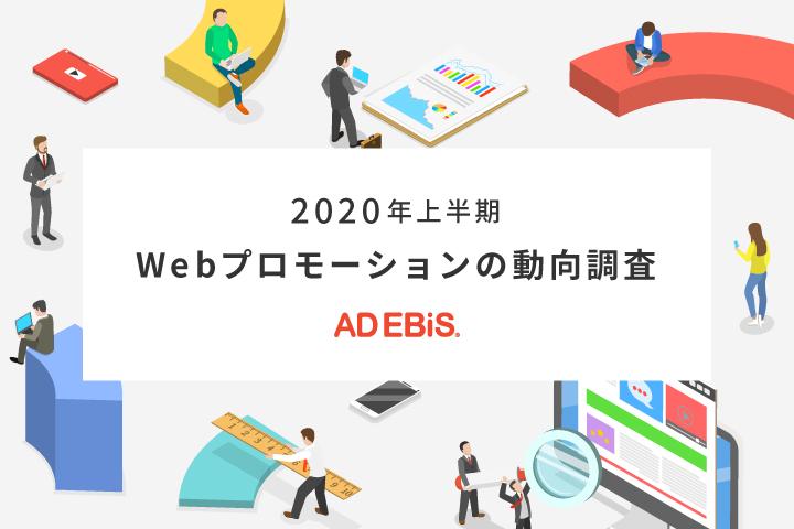 2020年上半期のWebプロモーション予算