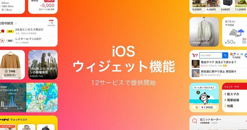 ios ウィジェット