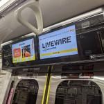 ビズライト・テクノロジー、電車内デジタルサイネージでインプレッションベース課金型広告の販売開始