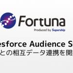 SupershipのパブリックDMP「Fortuna」、「Salesforce Audience Studio」との相互データ連携を開始