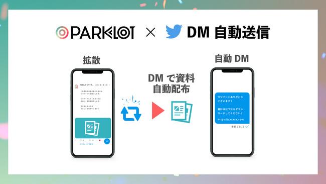 PARKLoT、リツイートしたユーザーに自動でDM送信できる機能を提供開始