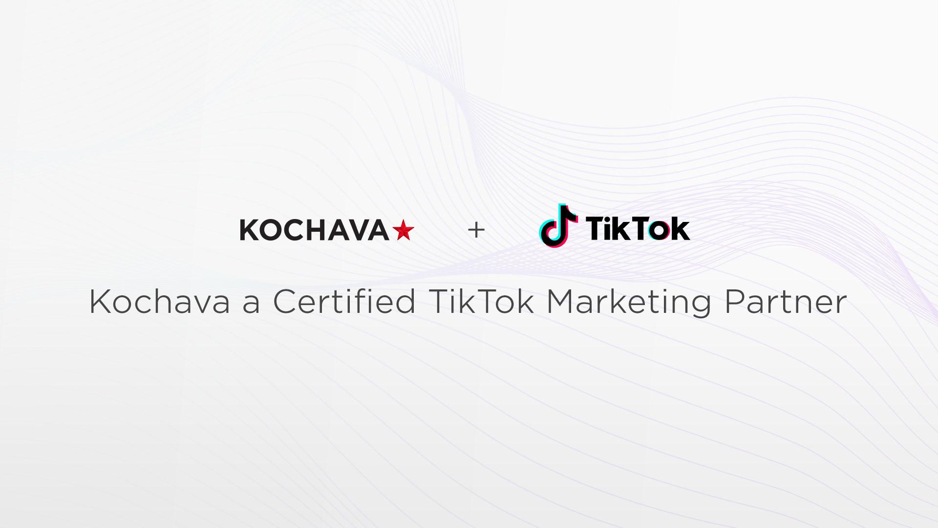 Kochava、TikTok認定のマーケティングパートナーに選出