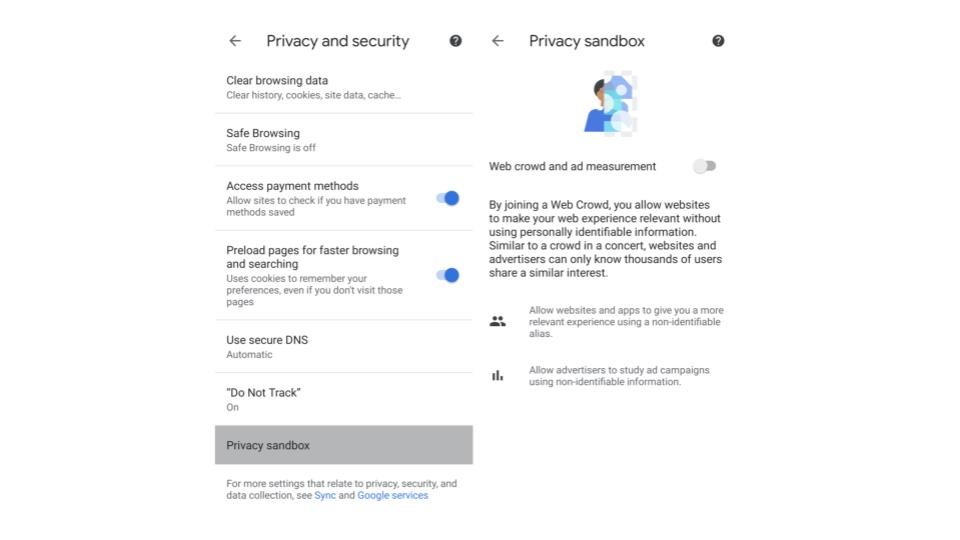 Google、Chrome 89ベータ版で「プライバシー・サンドボックス」のテスト運用開始