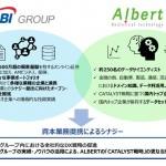 ALBERT、SBI ホールディングスと資本業務提携